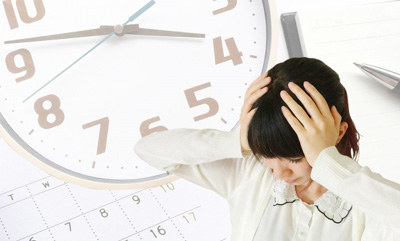 アパレルショップの忙しい時間帯