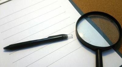 覆面調査員のレポート報告